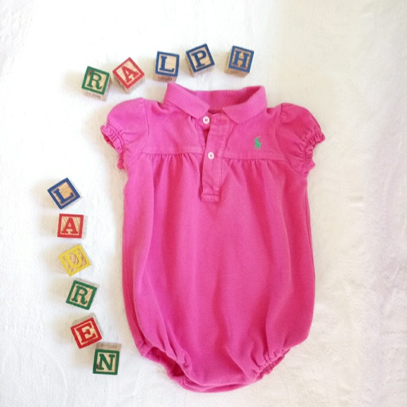 Polo Ralph Lauren Baby Girl's 2pc Set Sz 9mos Casual Outfit Clothes Clothing, Shoes & Accessories Baby & Toddler Clothing